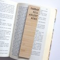Father's Day Bookmark ADD NAME Personalised Gift, Custom Made, Bamboo Bookmark