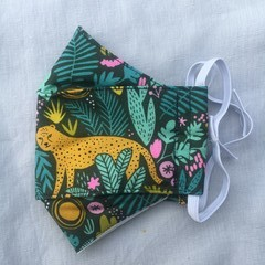 Fabric Face Mask - Women's Jungle Print