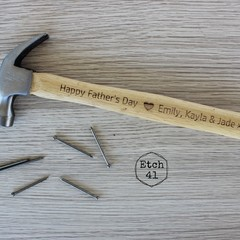 Father's Day Hammer Personalised