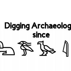 Custom  Mug- Archaelogy with Hieroglyphs