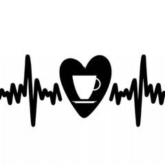 Custom  Mug Coffee Heart Beat