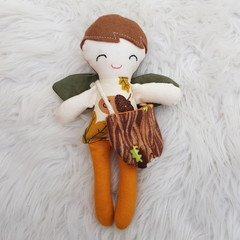 Handmade boy  tooth fairy doll