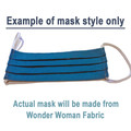 Wonder Woman - Pleated Face Mask