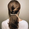 Crystal Hair Barrette Clips