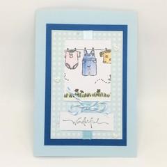 Baby Boy Card - Wonderful