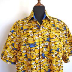 Men's short sleeved shirt - Minions print