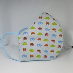 Space Invaders face mask for men (xl)