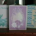 CARD BUNDLE OF THREE