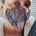 LUXE Fitted face mask -Womens Adult
