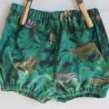 Unisex bloomers in jungle theme / baby gifts