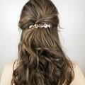 Cowrie Shell Hair Barrette Clip