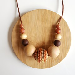 Beautiful Browns Ladies Necklace