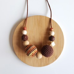 Temptation Brown Ladies Necklace