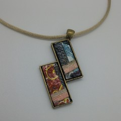 Thomas - Collage Pendant