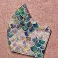 Face Mask - Medium - Mermaid scales