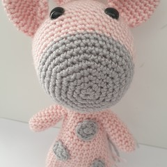 Beautiful Pink Giraffe