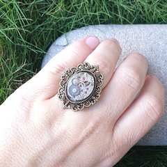 Steampunk Mechanism Ring