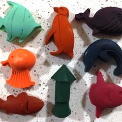 Sea Life Crayons