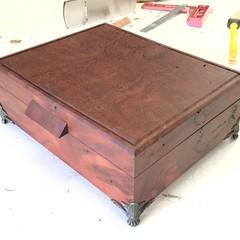 Jewellery Box / Keepsake Box / Valet Box / Wood Storage Box / Wood Box In River