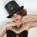 Hortence the Owl Top Hat - latex costume wear