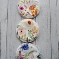 3 pairs reusable nursing pads