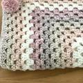Crochet Pram/Cot Blanket