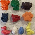 Mixed Animal Crayons