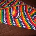 Clearance $35 Rainbow Blanket
