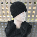 Hand Knitted Beanie & Scarf Set