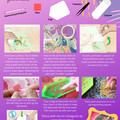 "5D Diamond Painting Kit ""Aquatic Mermaid"" - Complete Art Kit Full Round Drill"