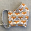 Fabric Face Mask - The Fox (free postage)