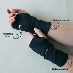 Fingerless Gloves ~ Katherine Gibbins HNF Cycle Fundraiser