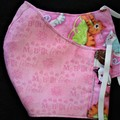 Cat/My Best Friend Fabric Face Mask size3-6/7-12yrs Ready Made
