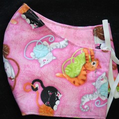 Cat/My Best Friends Face Mask size: 3-6yrs Ready Made