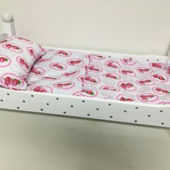 Dolls sheet set with Matching pillow