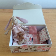Sleepover/Tooth Fairy Soft Toy Bunny in Box