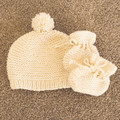 Little hats / beanies and booties for the new baby