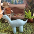 Dinosaur Themed Play Set in Travel Suitcase