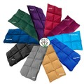 Wheat Bag 1.4kg Large Sectioned Heat Bag Heat Pack Winter Plain Colours Purple