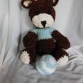 Teddy Bear Amigurumi Style+ Baby Ball/Soft Toys