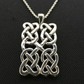 Celtic Knot Pendant- Sterling Silver