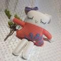 Crocheted Rag Doll Bunny