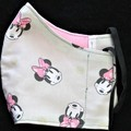Kids Fabric Face Mask, Size: 3-6/7-12yrs Ready Made