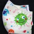 Kids Fabric Face Masks Size: 3-6yrs Ready Made