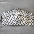 Fabric Face Mask - Beige Chevron (free postage)