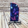 Blue Butterflies  Zipper Pouch/Glasses Case