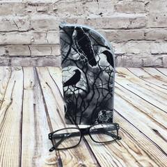Black Ravens  Zipper Pouch/Glasses Case