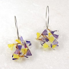 Statice flower collection - flower shape dangles