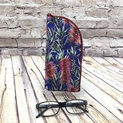 Australian Wildflowers Zipper Pouch/Glasses Case