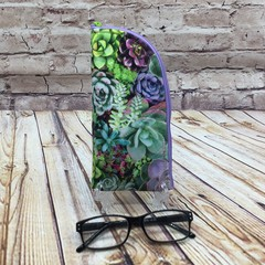 Succulents Zipper Pouch/Glasses Case